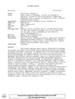 ERIC - ERIC ED451287: School Choice in Michigan: A Primer for Freedom in Education. A Guide for Exercising Parents' Rights and Responsibilities To Direct the Education of Their Children. A Mackinac Center Report.